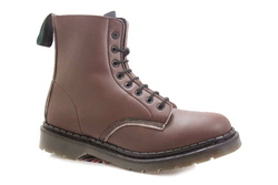 Boot 8 lace brown