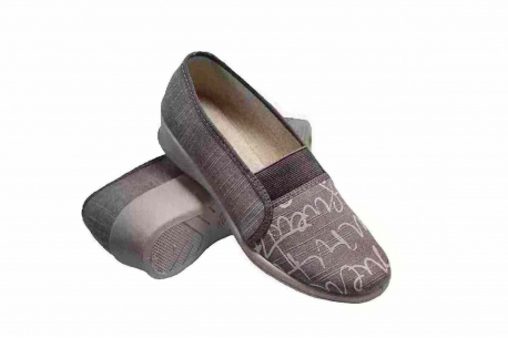 Fargeot Slip-on brown womens vegan shoe