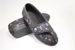 Soft sole Diana velour slipper