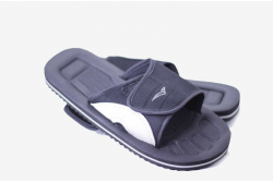 Pool slider sandal with adjustable straps - all nonleather so vegan of course