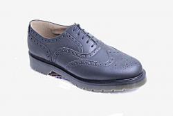 Vegan womens brogue shoe with a Tredair sole